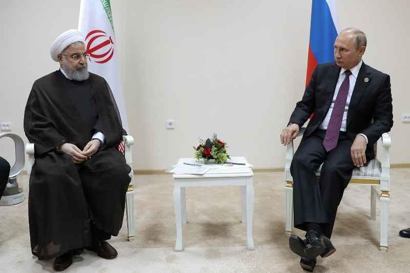 روحانی: تلاش کنیم خزر به دریای صلح و دوستی تبدیل شود