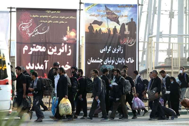 841 هزار زائر از مرز مهران تردد کردند