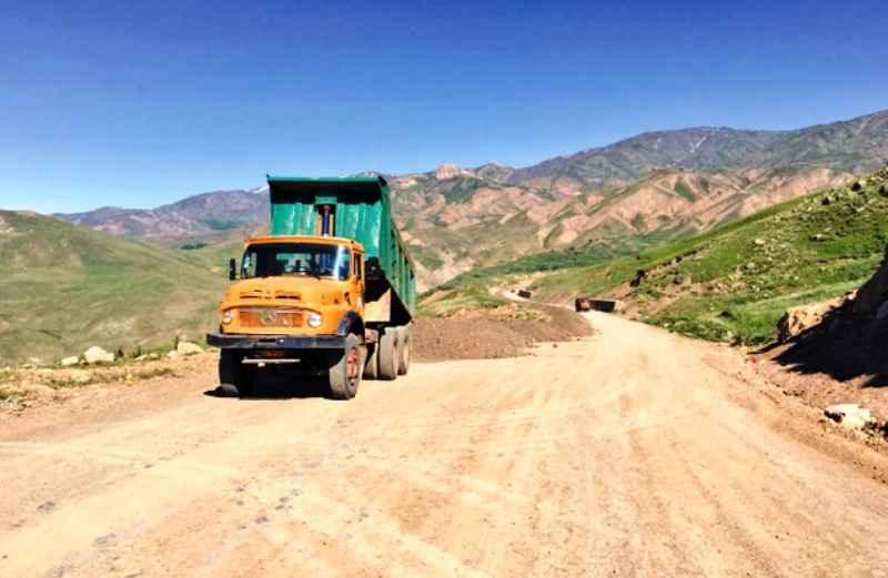 عملیات اتصال آبدانان به آزادراه پل زال لرستان شتاب می گیرد