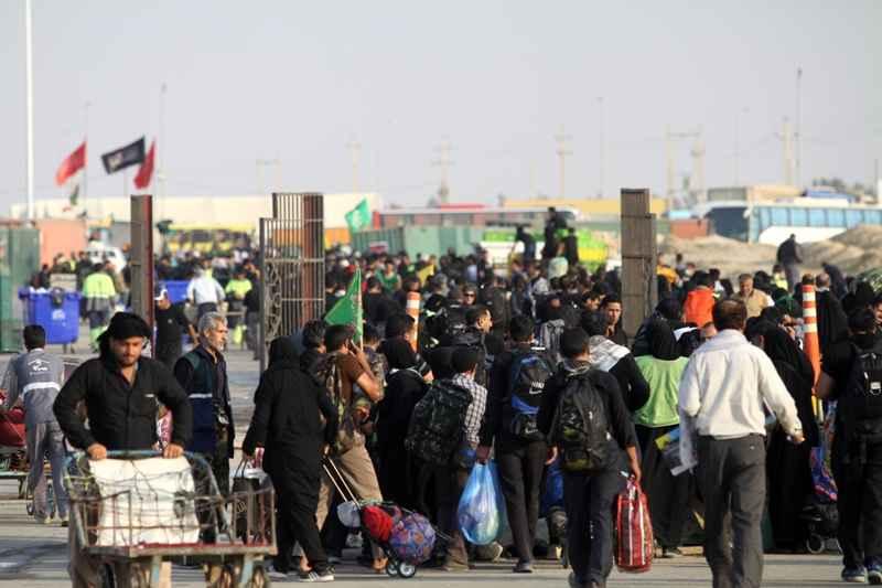 یک میلیون و 451 هزار زائر از مرز مهران تردد کردند