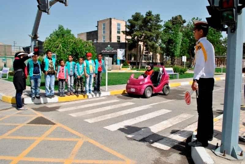 شهرک ترافیک کودکان در ایلام گشایش یافت