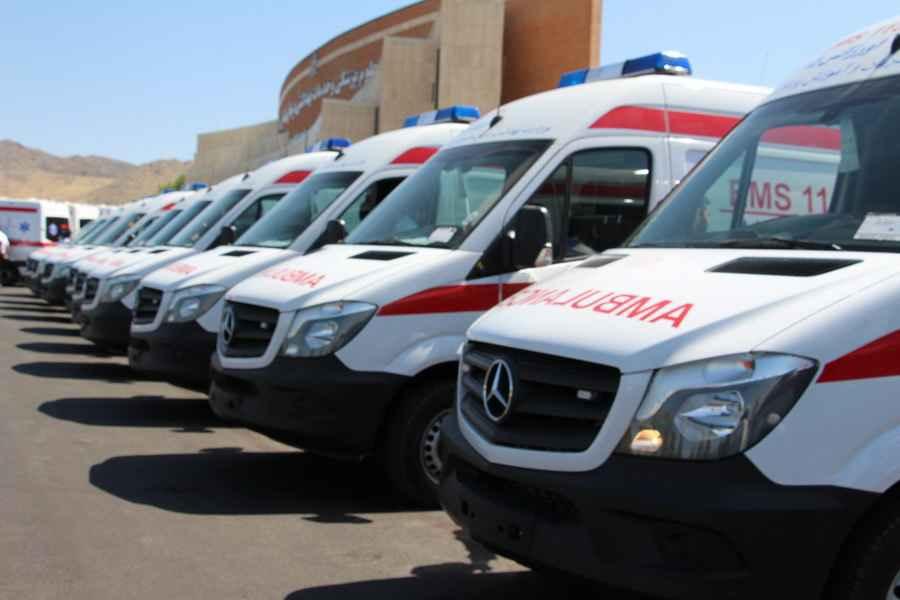 تعداد آمبولانس های اورژانس کشور 2 برابر شد